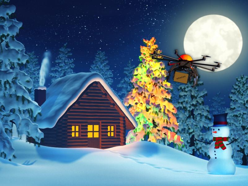 Christmas Drone